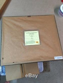 Joe Petruccio Hard Rock Parc Framed Pin Set Cafe Rare Rocksie Ciel