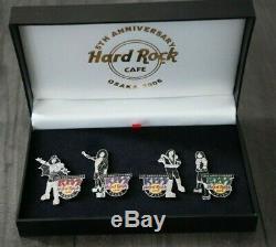 Kiss Hard Rock Cafe Osaka Ensemble De Broche Pour Le 5ème Anniversaire
