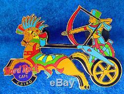 Le Caire Antique Pharaon Archer Égyptien War Chariot Cheval Hard Rock Cafe Pin Le
