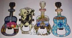 Lot 4 Hard Rock Cafe Magnet Ouvreur Buenos Aires Argentine Et Santiago Chili