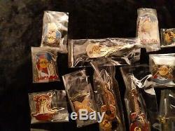Lot De 24 Rare Assorted Hard Rock Café Hôtel Casino Pins Regardez! Brand New Cond