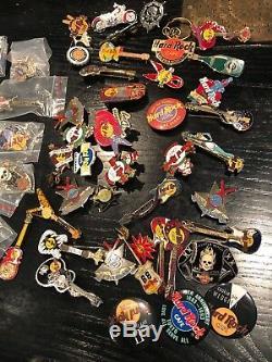 Lot Plus De 80+ Hard Rock Cafe Pins Faites-moi Une Offre