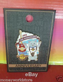 Maintenant Fermé! Café Hard Rock Cleveland Tower City 2016 18ème. Pin Le300 Rare