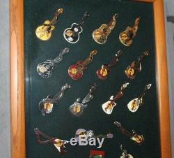 Mon Hrc Hard Rock Cafe Pin Collection (167) La Plupart Du Temps De 1990 De 1980
