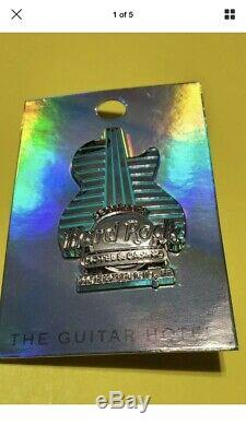 New Guitar Hôtel Pin Hologram Hard Rock Café Hôtel & Casino Limited T-shirt XL
