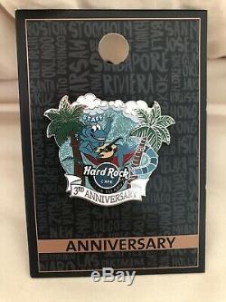 Nouveau Hard Rock Cafe Cayman Islands 3ème Anniversaire Pin Personnel Limité Ed Le100
