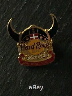 Personnel D'ouverture Hard Rock Cafe Copenhagen Pin Limited Edition