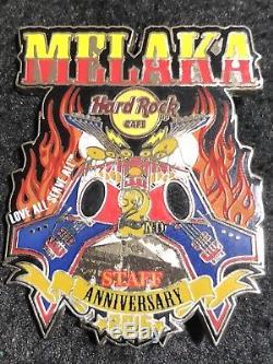 Pin Hard Rock Cafe Melaka 2e Anniversaire Du Personnel