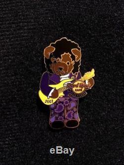 Prince Bear Pin Officiel Café Hard Rock Paisley Jaune Nuage