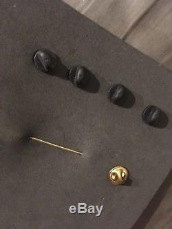 Rare Édition Limitée Beatles Hard Rock Cafe Pin Set. Cadeau De John Paul George Ringo