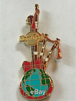 Rare Hard Rock Cafe Pdg Du Personnel Cornemuse Guitare Pin 3ème Version Hamish Dodds
