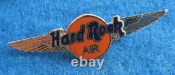 Rare Prototype Peter Morton Hard Rock Air Pilote Silver Wings Hard Rock Cafe Pin