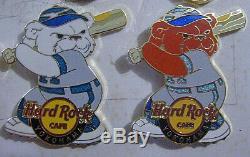 Rare Prototype Yokohama Baseball Sports Série Polar Bear Hard Rock Cafe Pin Le1