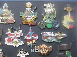 Sammlung 24 Hard Rock Café Pins
