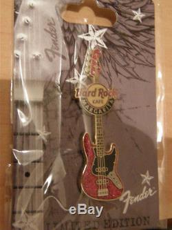 Série De Pin De Guitare De Hard Rock Cafe Margarita Fender 2011