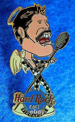 Singapour Freddie Mercury Queen 10ème Anniversaire Hard Rock Café Pin Le