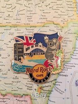Sydney Australia Hard Rock Cafe Hrc Ville Alternative Aimant En Metal Pincraft