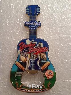 Yankee Stadium Aimant D'ouverture De Bouteille De Guitare Hard Rock Cafe V 11
