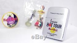 Zippo Hot Tour Hard Rock Cafe 2004 Épingles Set Mint Rare Sku40171014